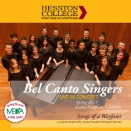 Hesston College Bel Canto Singers Songs of a Wayfarer CD cover
