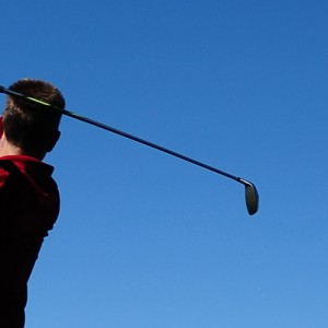 golf photo illustration