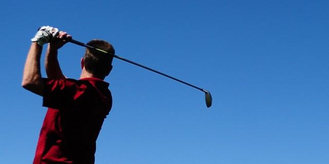 golf photo illustration
