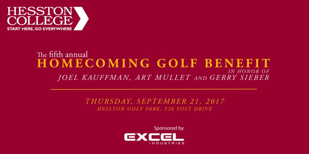 5th annual homecoming golf benefit