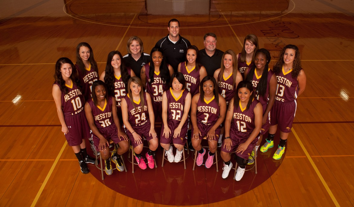 2013-14 Hesston College women's basketball team