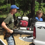 Darin Bontrager, Hesston College Disaster Management Program graduate