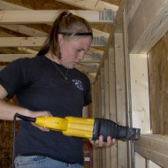 Jackie Shaw O'Brien, Hesston College Disaster Management Program graduate