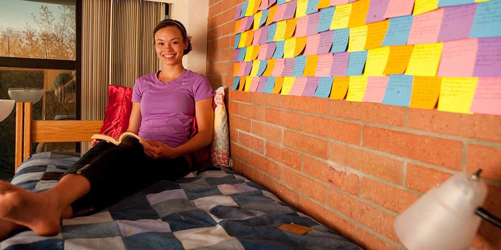 Hesston College sophomore Makayla Ladwig