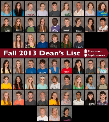 Fall 2013 Deans List