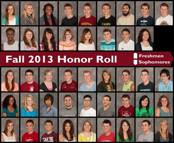 Fall 2013 Honor Roll