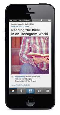 Reading the Bible in an Instagram world - AVDS 2014