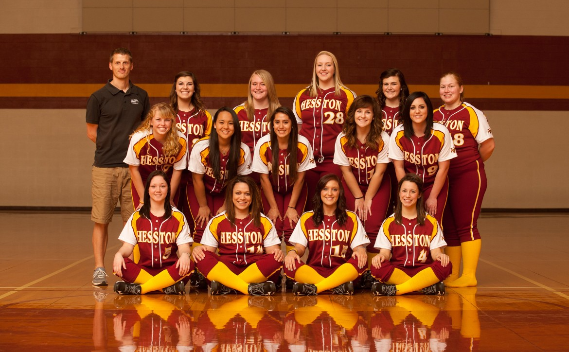 2014 Hesston College softball team