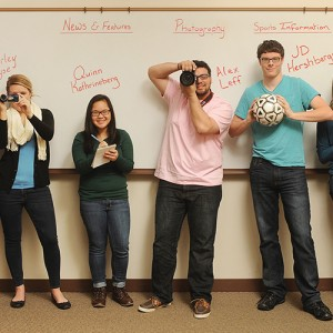 Hesston College communications interns