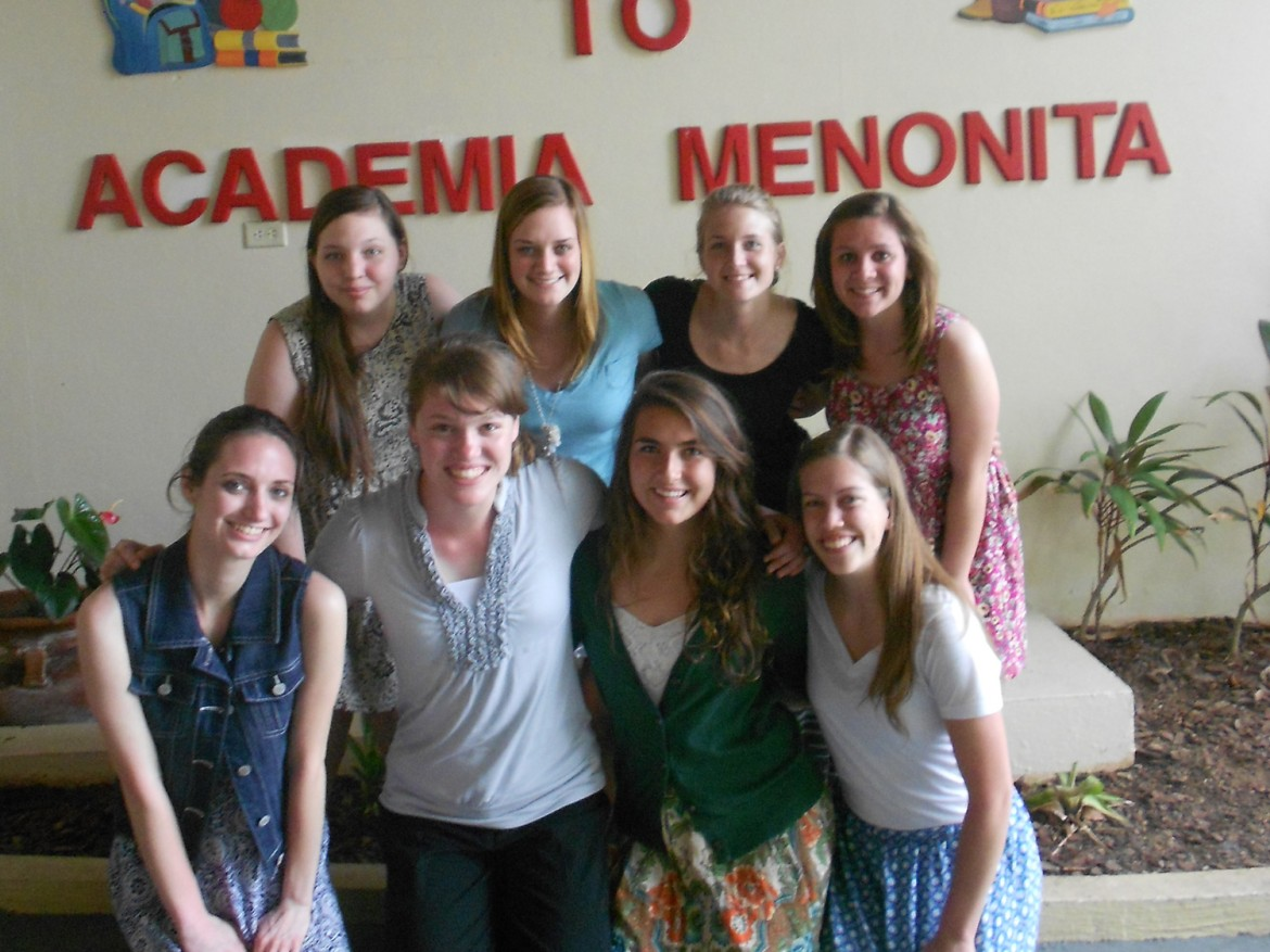 Eight Hesston College students spent time observing in Puerto Rican schools and interacting with teachers and students during spring break