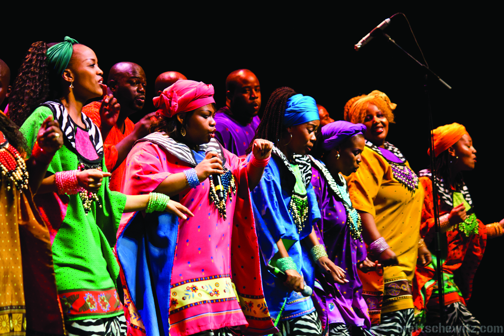 The Soweto Gospel Choir will present the last HBPA concert of the 2013-14 season at 7:30 p.m., March 28 in Bethel College's (North Newton, Kan.) Memorial Hall.