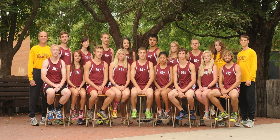 2013 Hesston College Men's and Women's Cross Country Teams