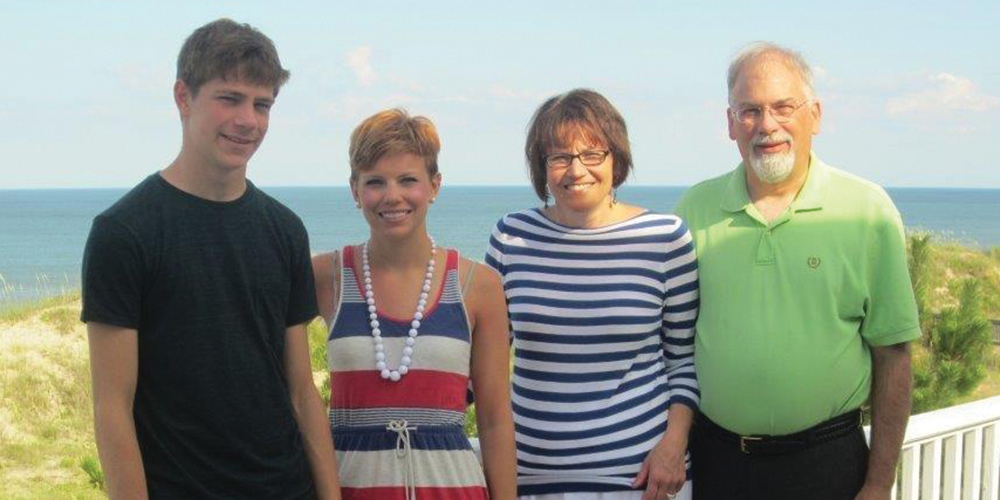 Eric, Emily, Wilma and Karl Cender
