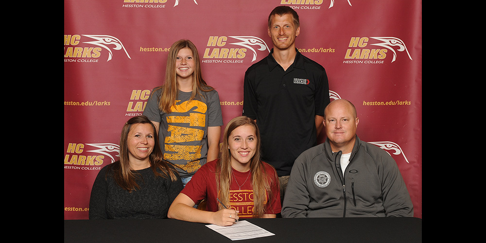 Kendra Honeycutt signs to play softball for Hesston College