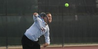 mens-tennis stock image