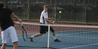 mens-tennis stock image