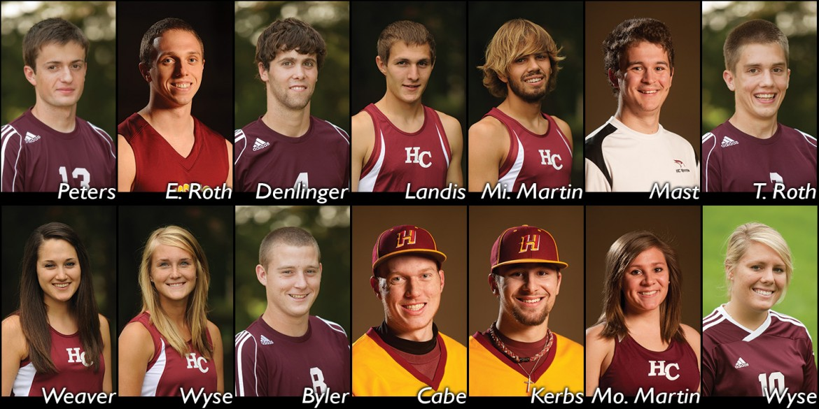 2014-14 Hesston College academic all-Americans