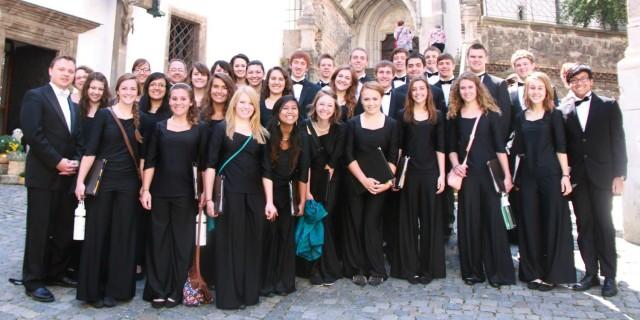 Summer 2014 Hesston College International Chorale group photo