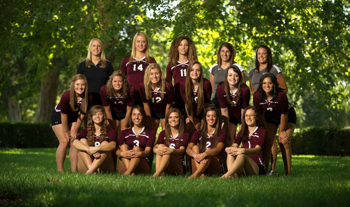2014 Hesston College Volleyball Team