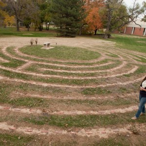 The Hesston College prayer labyrinth, was completed this fall after several years of dreaming and planning.