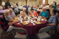 Alumni celebrating 50-year or greater reunions enjoy the Golden Gables Luncheon.