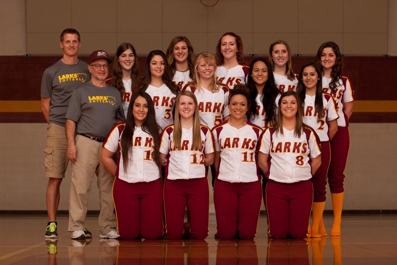 Softball team photo
