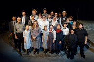 cast and crew photo from the Hesston College production of Our Town