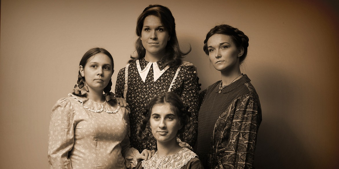 Promo photo from Hesston College production of Little Women
