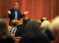 Fr. John Dear speaks at AVDS 2015