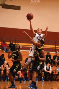 women's basketball action photo