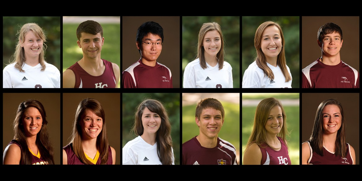 2015-16 Academic All Americans from Hesston College