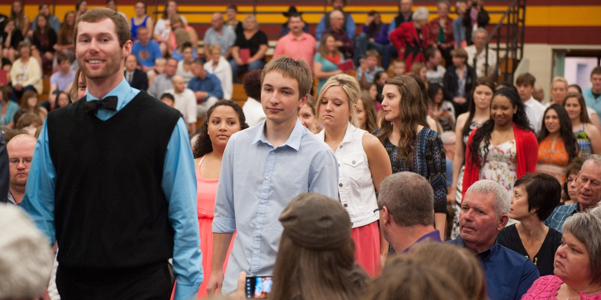 2015 Hesston College commencement processional