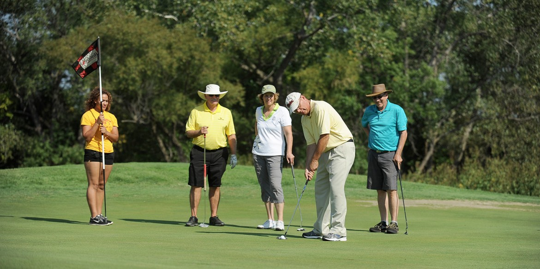 2014 homecoming student scholarship golf benefit