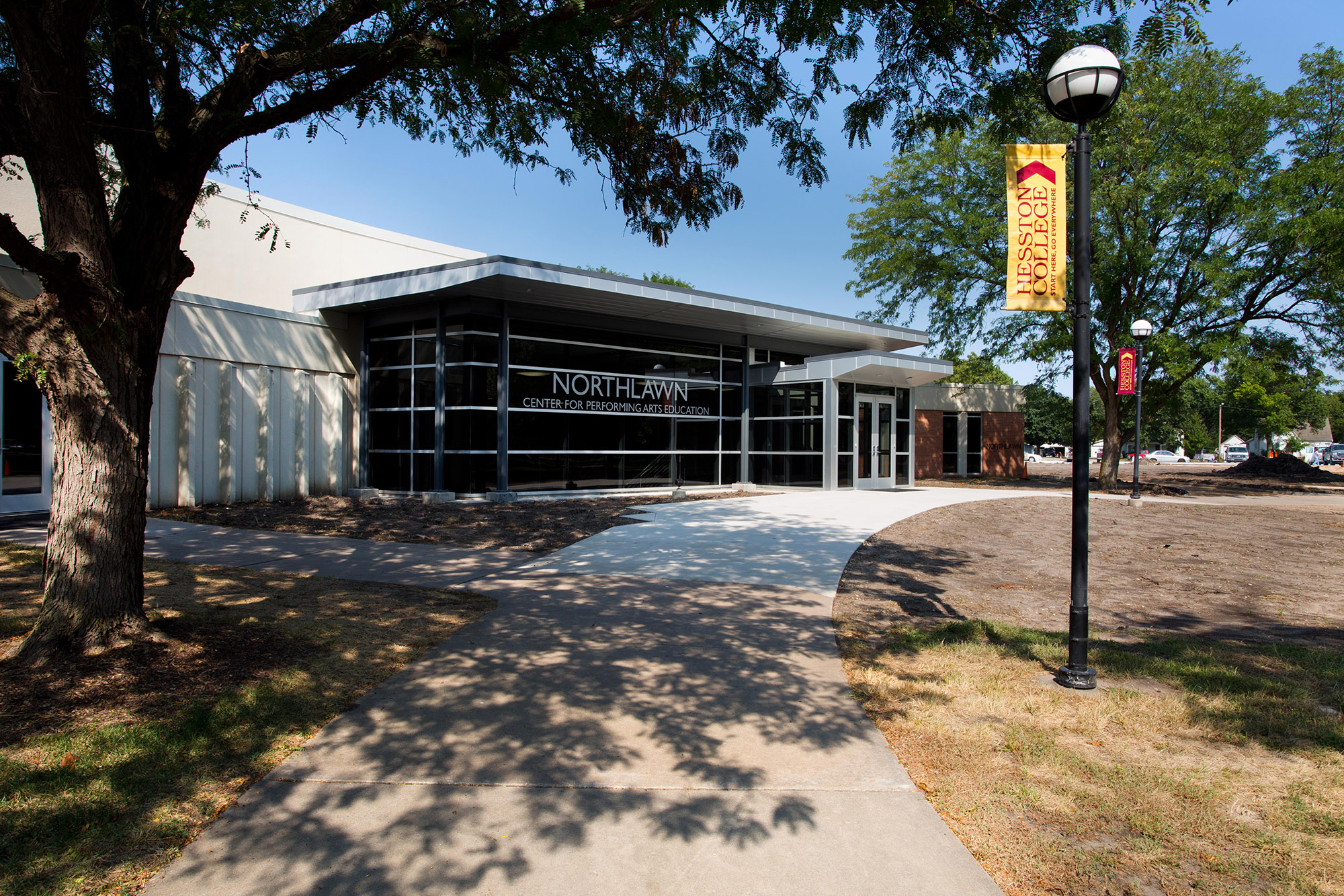 Keim Center entrance