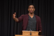 Student speaker Malcolm Mann '15 (Plano, Texas) reflects on his two years at Hesston College.