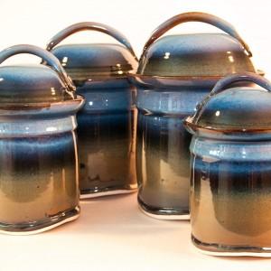 ceramics by Isaac Shue, Hesston College alumnus