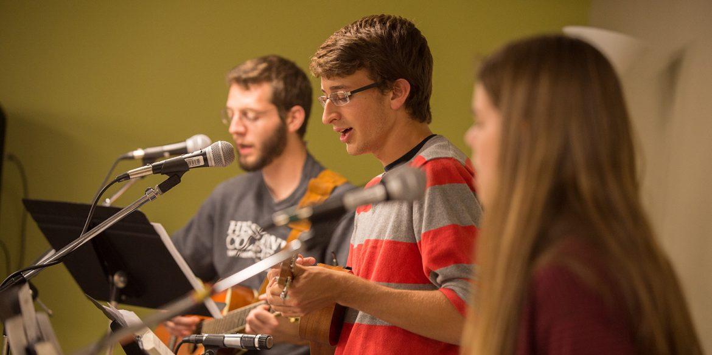 Hesston College campus worship