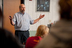 nursing faculty member Gregg Schroeder