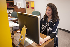 Karli Rodriguez works as an intern in the Marketing and Communications office.