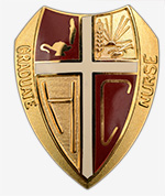 Hesston College nursing pin