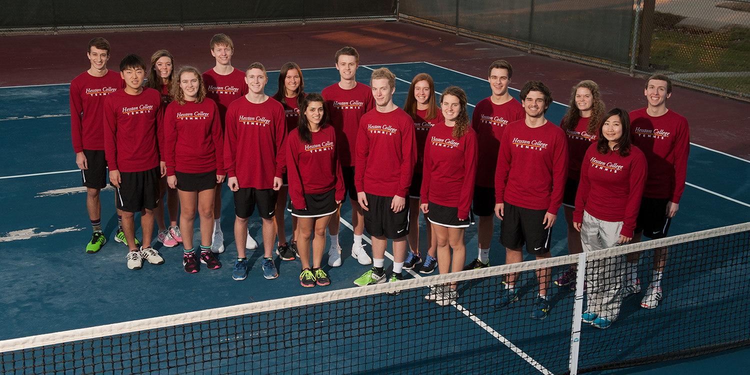 2016 Hesston College tennis team