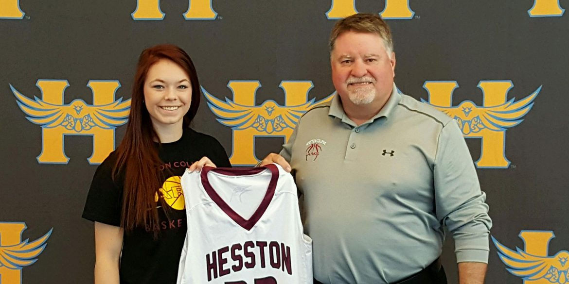Connor Atkinson has signed to play basketball for Hesston College.