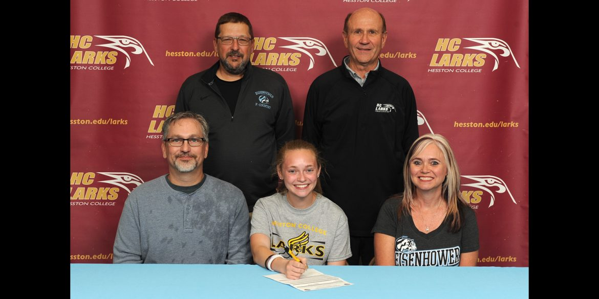 Sierra Broce signs to run cross country for Hesston College.