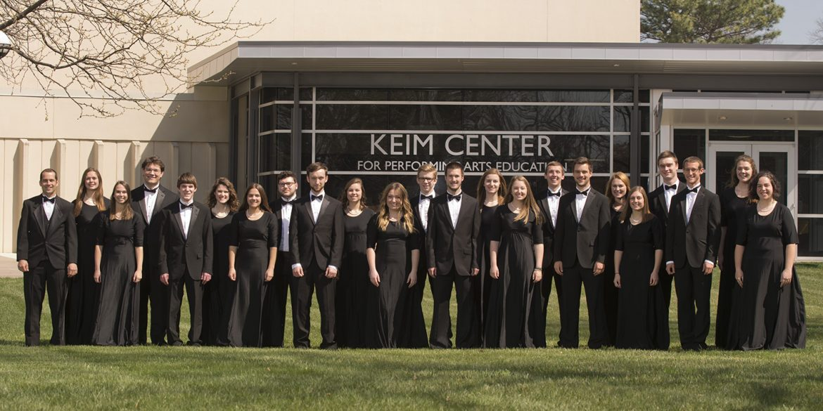 Hesston College Bel Canto Singers spring 2017