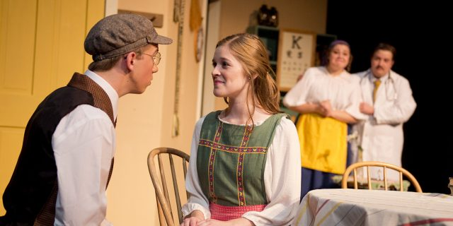 photo from Hesston College production of Fools