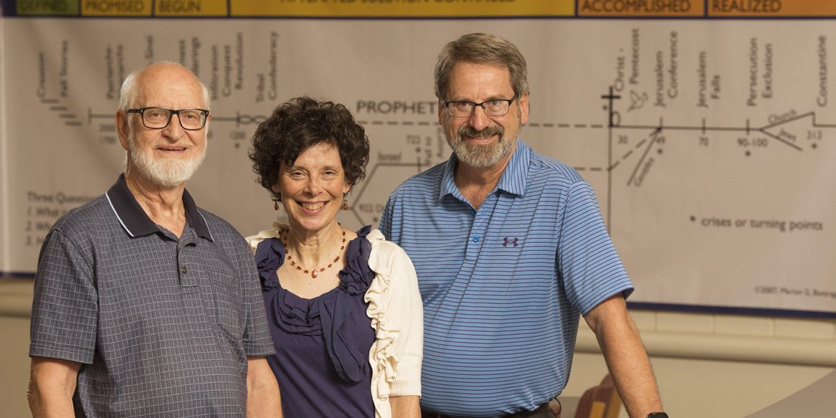 Bible as Story authors Marion Bontrager, Michele Hershberger and John Sharp