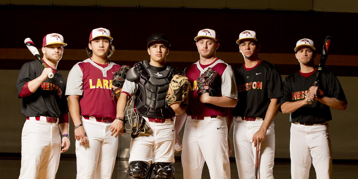2017 Hesston College baseball team poster photo