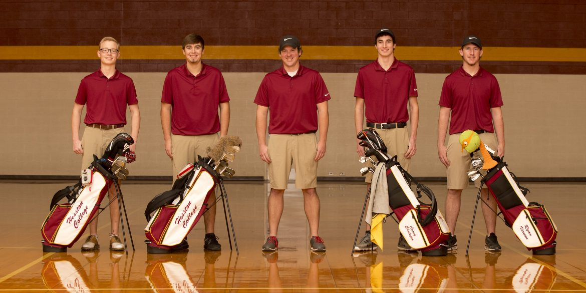 2017 Hesston College Men's Golf Team