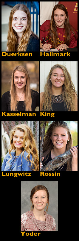 volleyball signees composite photo