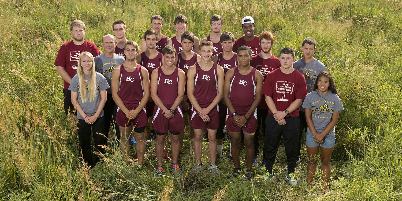 2016 Hesston College men's cross country team
